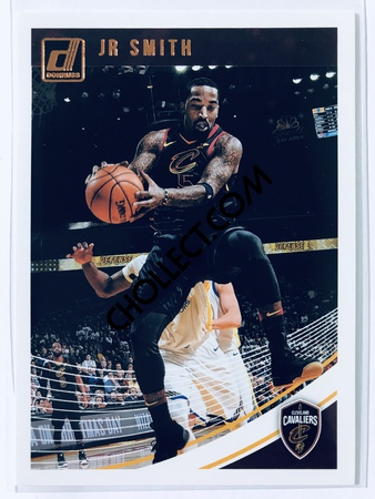 JR Smith - Cleveland Cavaliers Panini Donruss 2018-19 #118