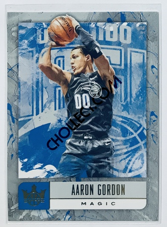 Aaron Gordon Panini Court Kings 2018-19 NBA Base Card #1 Orlando Magic