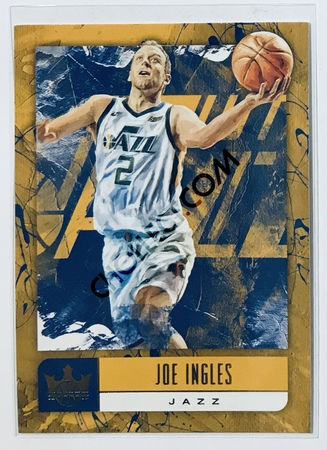 Joe Ingles Panini Court Kings 2018-19 NBA Base Card #14 Utah Jazz