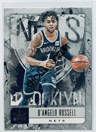 D'Angelo Russell Panini Court Kings 2018-19 NBA Base Card #20 Brooklyn Nets