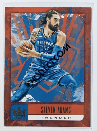 Steven Adams Panini Court Kings 2018-19 NBA Base Card #22 Oklahoma City Thunder