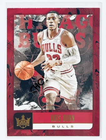 Kris Dunn Panini Court Kings 2018-19 NBA Base Card #36 Chicago Bulls