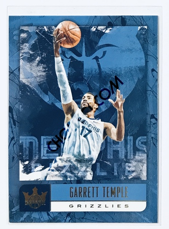 Garrett Temple Panini Court Kings 2018-19 NBA Base Card #43 Memphis Grizzlies