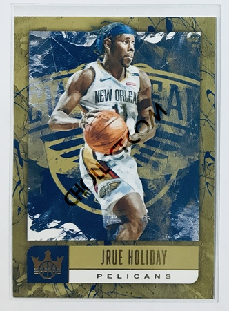 Jrue Holiday Panini Court Kings 2018-19 NBA Base Card #45 New Orleans Pelicans