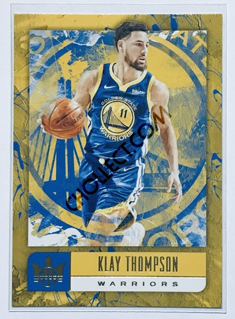 Klay Thompson Panini Court Kings 2018-19 NBA Base Card #47 Golden State Warriors