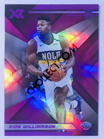 Zion Williamson - New Orleans Pelicans 2019-20 Panini Chronicles #271 XR Pink Parallel