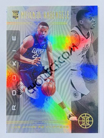 Mfiondu Kabengele - Los Angeles Clippers 2019-20 Panini Illusions #160 (Rookie)