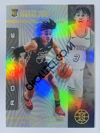 Jordan Poole - Golden State Warriors 2019-20 Panini Illusions #170 (Rookie)