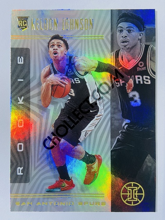 Keldon Johnson - San Antonio Spurs 2019-20 Panini Illusions #180 (Rookie)