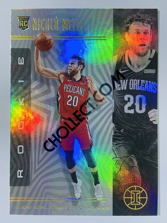Nicolo Melli - New Orleans Pelicans 2019-20 Panini Illusions #186 (Rookie)