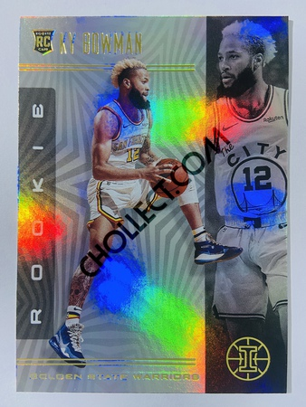 Ky Bowman - Golden State Warriors 2019-20 Panini Illusions #188 (Rookie)