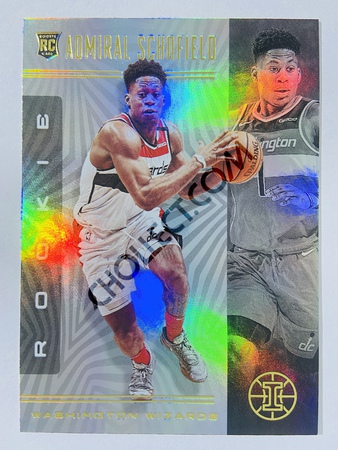 Admiral Schofield - Washington Wizards 2019-20 Panini Illusions #192 (Rookie)