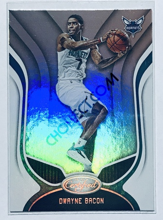 Dwayne Bacon Panini Certified 2019-20 Base Card #7 Charlotte Hornets