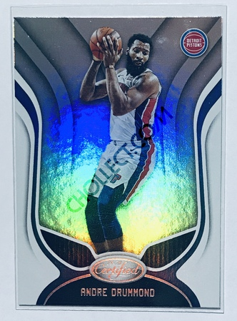Andre Drummond Panini Certified 2019-20 Base Card #49 Detroit Pistons