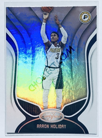 Aaron Holiday Panini Certified 2019-20 Base Card #53 Indiana Pacers
