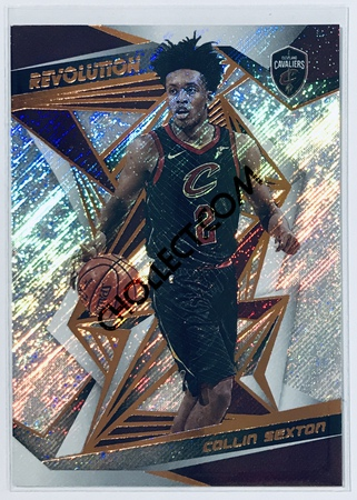 Collin Sexton Panini Revolution 2019-20 Basketball Base Card #30 Cleveland Cavaliers