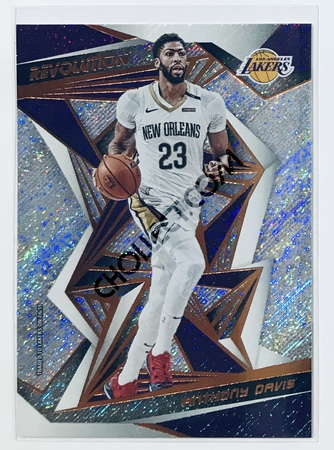 Anthony Davis Panini Revolution 2019-20 Basketball Base Card #90 Los Angeles Lakers