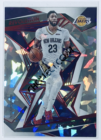 Anthony Davis Panini Revolution 2019-20 Basketball Base Card New Year Parallel #90 Los Angeles Lakers