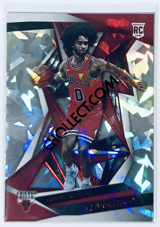 Coby White RC Panini Revolution 2019-20 Basketball Base Rookie Card New Year Parallel #106 Chicago Bulls