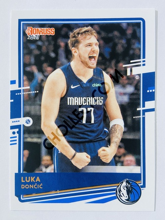 Luka Doncic - Dallas Mavericks 2020-21 Panini Donruss #13