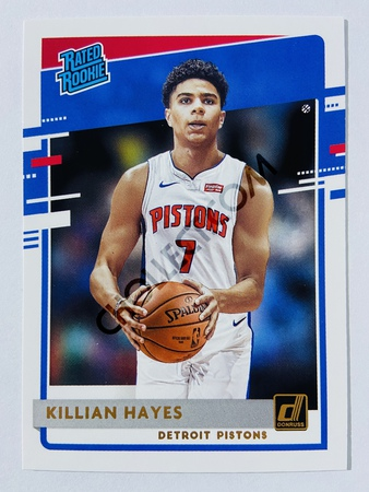 Killian Hayes - Detroit Pistons 2020-21 Panini Donruss Rated Rookie #204
