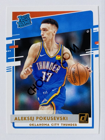 Aleksej Pokusevski - Oklahoma City Thunder 2020-21 Panini Donruss Rated Rookie #209