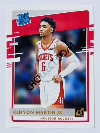 Kenyon Martin Jr. - Houston Rockets 2020-21 Panini Donruss Rated Rookie #224