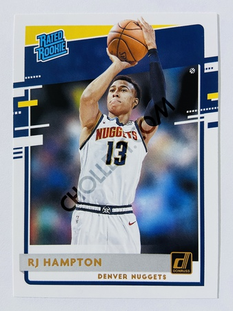 RJ Hampton - Denver Nuggets 2020-21 Panini Donruss Rated Rookie #237