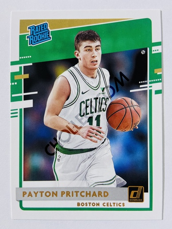 Payton Pritchard - Boston Celtics 2020-21 Panini Donruss Rated Rookie #238