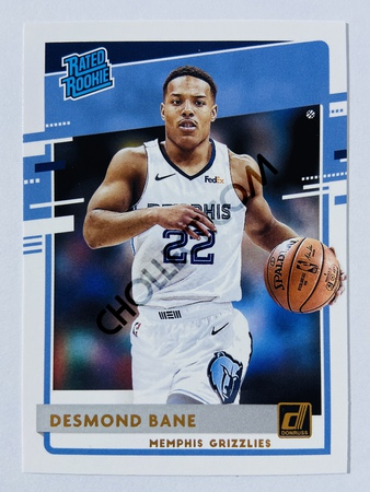 Desmond Bane - Memphis Grizzlies 2020-21 Panini Donruss Rated Rookie #240