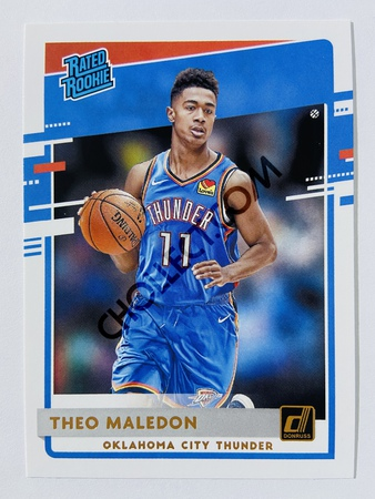 Theo Maledon - Oklahoma City Thunder 2020-21 Panini Donruss Rated Rookie #242