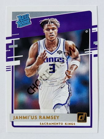 Jahmi'us Ramsey - Sacramento Kings 2020-21 Panini Donruss Rated Rookie #247