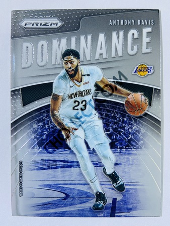 Anthony Davis - New Orleans Pelicans 2019-20 Panini Prizm Dominance Insert #2
