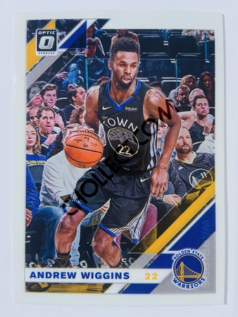 Andrew Wiggins - Golden State Warriors 2019-20 Panini Chronicles Donruss Optic #511