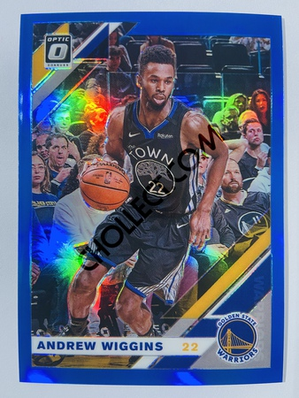 Andrew Wiggins - Golden State Warriors 2019-20 Panini Chronicles Donruss Optic Blue Parallel #511