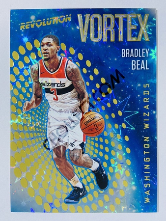 Bradley Beal - Washington Wizards 2017-18 Panini Revolution Vortex Impact Insert #33