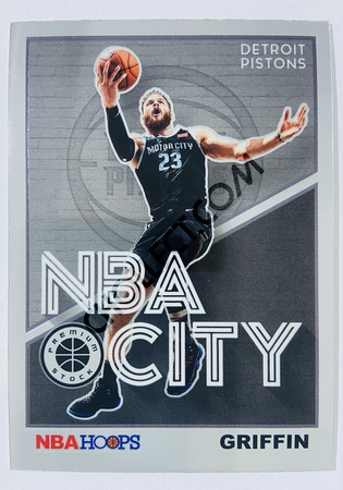 Blake Griffin - Detroit Pistons 2019-20 Panini Hoops Premium Stock NBA City Insert #8