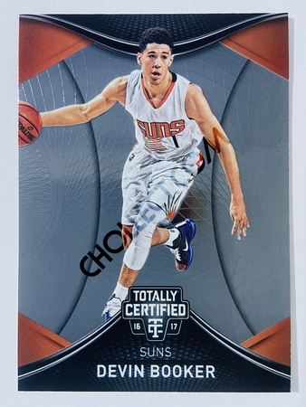 Devin Booker - Phoenix Suns 2016-17 Panini Totally Certified #53