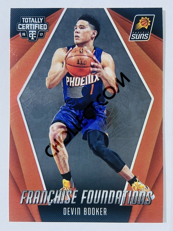 Devin Booker - Phoenix Suns 2016-17 Panini Totally Certified Franchise Foundation #15