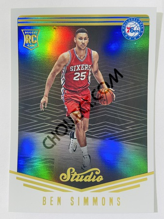 Ben Simmons - Philadelphia Sixers 2016-17 Panini Studio Portrait RC Rookie Card #184