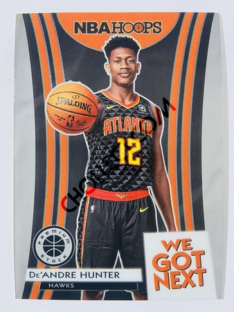 De'Andre Hunter - Atlanta Hawks 2019-20 Panini Hoops Premium Stock We Got Next Insert #11