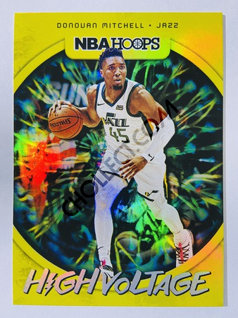 Donovan Mitchell - Utah Jazz 2019-20 Panini Hoops High Voltage #8
