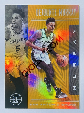 Dejounte Murray - San Antonio Spurs 2019-20 Panini Illusions Orange Parallel #56