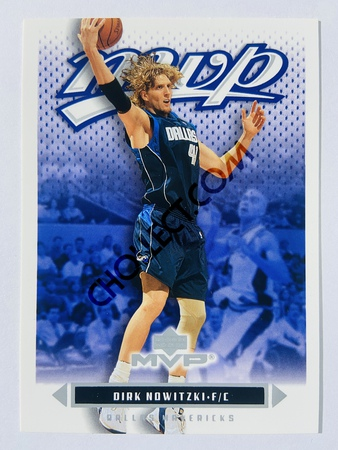 Dirk Nowitzki - Dallas Mavericks 2003 Upper Deck MVP #26