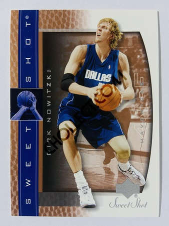 Dirk Nowitzki - Dallas Mavericks 2003 Upper Deck Sweet Shot #13