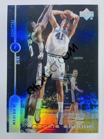Dirk Nowitzki - Dallas Mavericks 1999 Rookie Encore #7