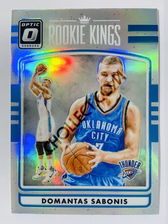 Domantas Sabonis - Indiana Pacers 2016-17 Panini Donruss Optic Holo Rookie Kings #11