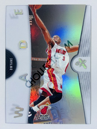 Dwyane Wade - Miami Heat 2006-07 Fleer EX #21