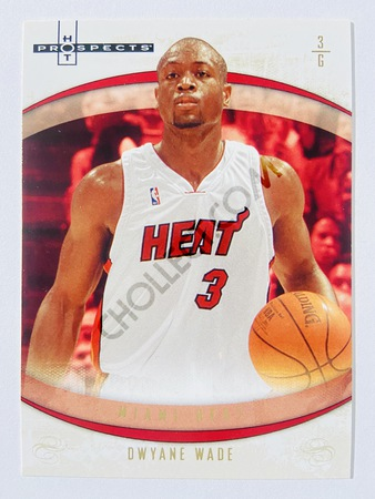 Dwyane Wade - Miami Heat 2007-08 Fleer Hot Prospects #4