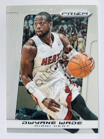 Dwyane Wade - Miami Heat 2013-14 Panini Prizm Base Card #44
